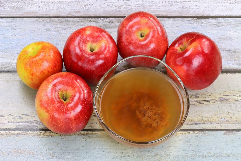 ябълков оцет за дебелото черво