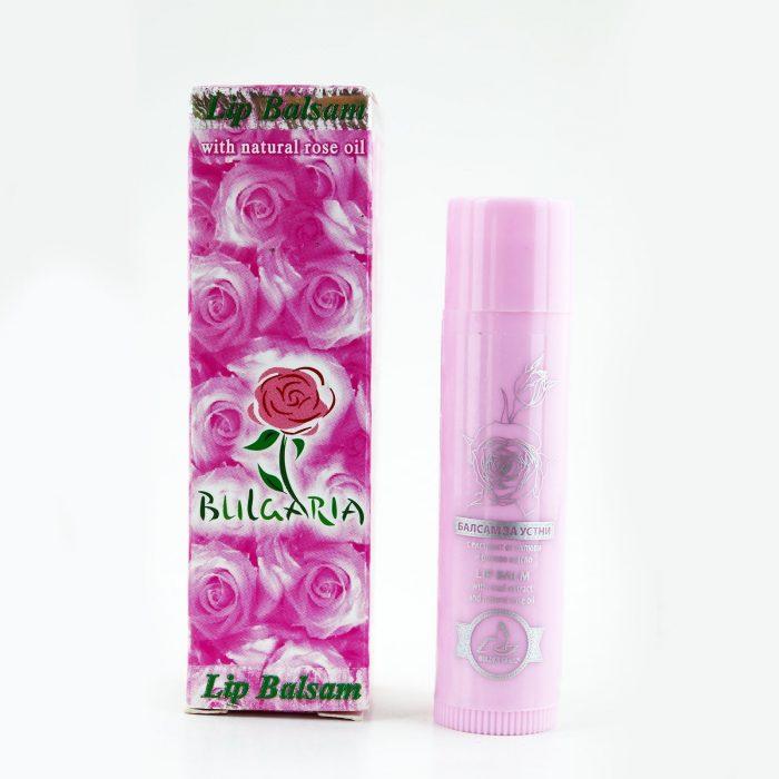 Защитен и подхранващ Балсам за устни (с розово масло и екстракт от охлюв)