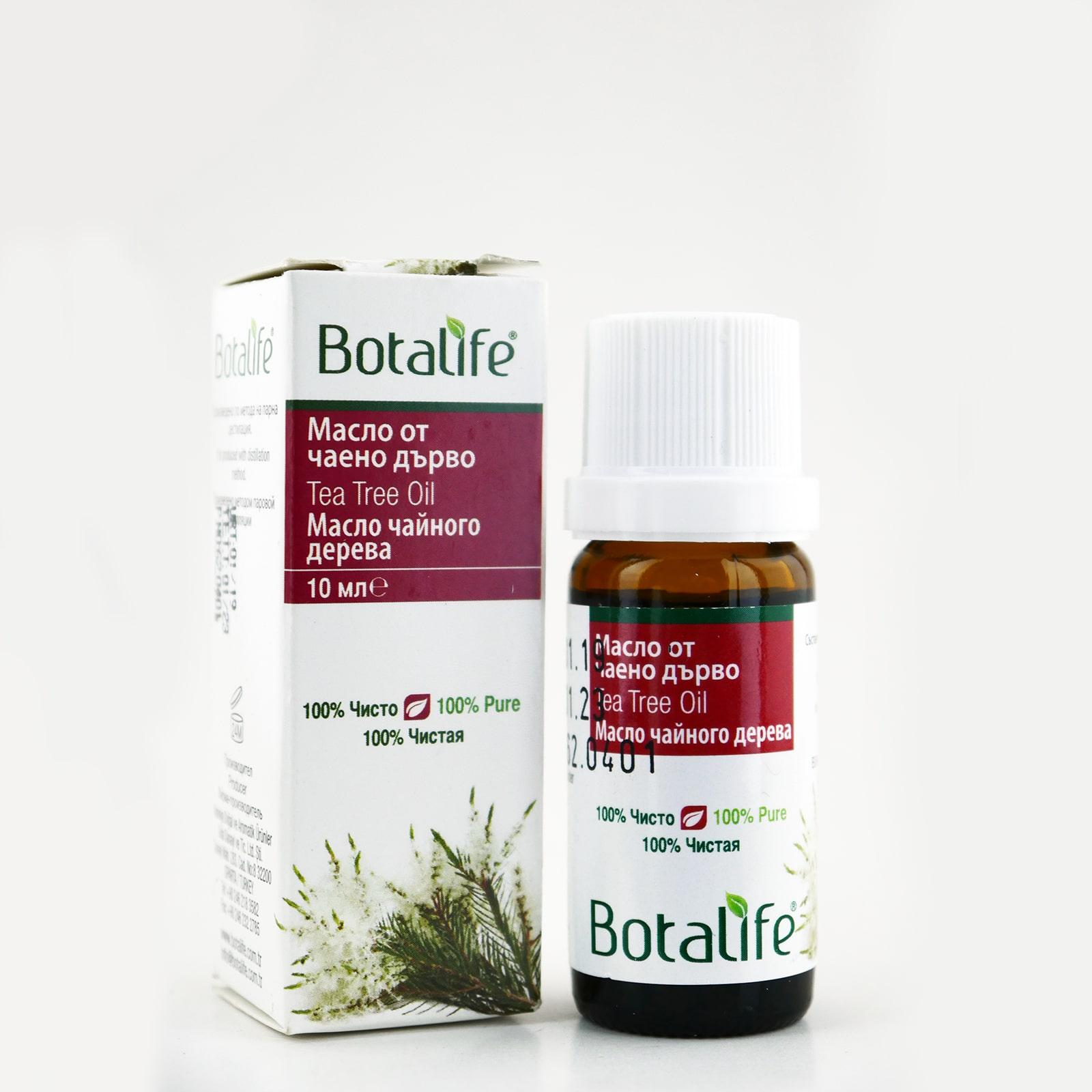 Масло за кожни инфекции, гъбички и за премахване на плесен (100% от чаено дърво) 10 ml.