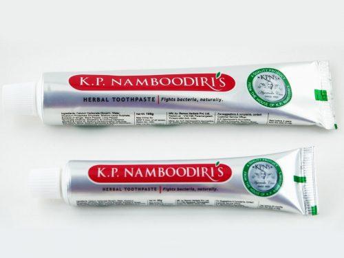 Възстановяваща Антибактериална паста за зъби (натурална) (с Карамфил и джинджифил) (подходяща за вегани) 15 г. - туристически размер