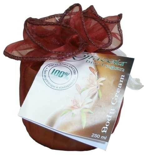 Овлажняващ и подхранващ Крем за тяло (премахва стрии и възстановява кожата след родилния процес) 250 ml. 100%натурален - Grazzia Bio-Regen